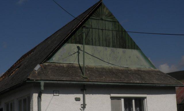 Rodinný dom Kolbovce Strecha